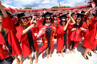 Rutgers 248th Commencement Ceremony at High Point Stadium.
