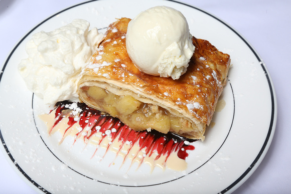 Apple Strudel at Prime Steahouse