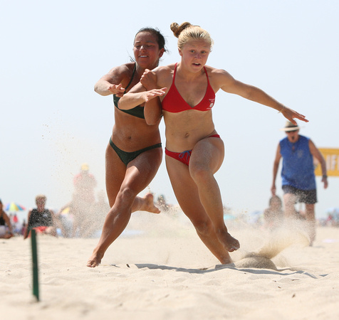 The 30th annual National Park Service All-Women Lifeguard Tournament at Sandy Hook State Beach.