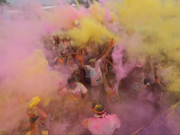 Color Me Rad, East Rutherford NJ